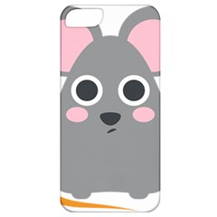 Mouse Grey Face Apple Iphone 5 Classic Hardshell Case by Alisyart