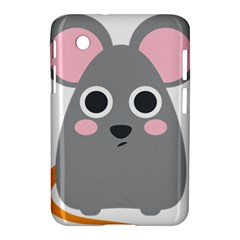 Mouse Grey Face Samsung Galaxy Tab 2 (7 ) P3100 Hardshell Case  by Alisyart
