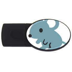 Mouse Usb Flash Drive Oval (2 Gb) by Alisyart