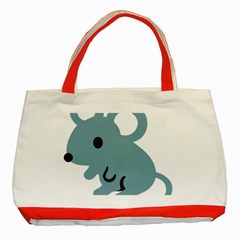 Mouse Classic Tote Bag (red)