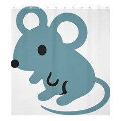 Mouse Shower Curtain 66  X 72  (large)  by Alisyart