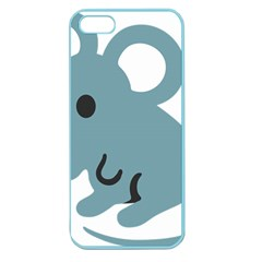 Mouse Apple Seamless Iphone 5 Case (color) by Alisyart