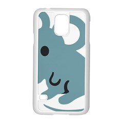 Mouse Samsung Galaxy S5 Case (white) by Alisyart