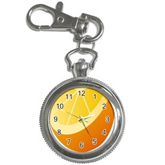 Orange Lime Yellow Fruit Fress Key Chain Watches by Alisyart