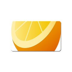 Orange Lime Yellow Fruit Fress Magnet (name Card) by Alisyart