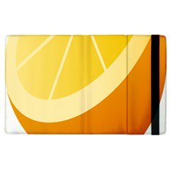 Orange Lime Yellow Fruit Fress Apple Ipad 3/4 Flip Case by Alisyart