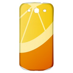 Orange Lime Yellow Fruit Fress Samsung Galaxy S3 S Iii Classic Hardshell Back Case by Alisyart