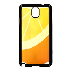 Orange Lime Yellow Fruit Fress Samsung Galaxy Note 3 Neo Hardshell Case (black)