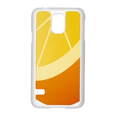 Orange Lime Yellow Fruit Fress Samsung Galaxy S5 Case (white) by Alisyart