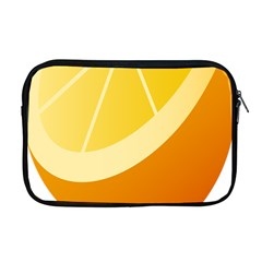 Orange Lime Yellow Fruit Fress Apple Macbook Pro 17  Zipper Case