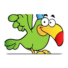 Parrot Cartoon Character Flying Plate Mats by Alisyart