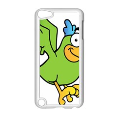 Parrot Cartoon Character Flying Apple Ipod Touch 5 Case (white) by Alisyart