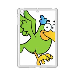 Parrot Cartoon Character Flying Ipad Mini 2 Enamel Coated Cases