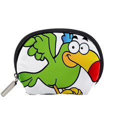 Parrot Cartoon Character Flying Accessory Pouches (small)  by Alisyart