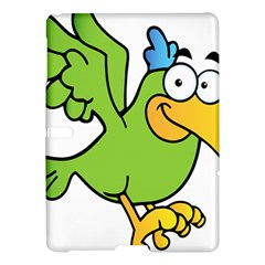 Parrot Cartoon Character Flying Samsung Galaxy Tab S (10 5 ) Hardshell Case