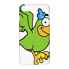 Parrot Cartoon Character Flying Apple Iphone 7 Plus Hardshell Case
