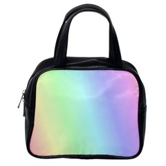 Multi Color Pastel Background Classic Handbags (one Side) by Simbadda