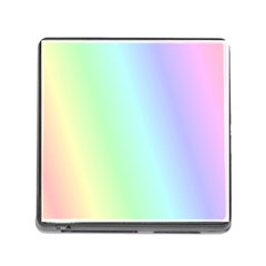 Multi Color Pastel Background Memory Card Reader (square) by Simbadda