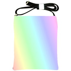 Multi Color Pastel Background Shoulder Sling Bags by Simbadda