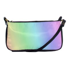 Multi Color Pastel Background Shoulder Clutch Bags by Simbadda