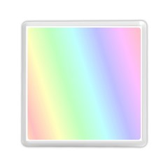 Multi Color Pastel Background Memory Card Reader (square)