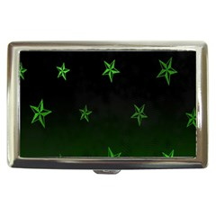 Nautical Star Green Space Light Cigarette Money Cases