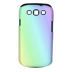 Multi Color Pastel Background Samsung Galaxy S Iii Classic Hardshell Case (pc+silicone) by Simbadda