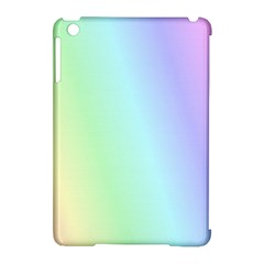 Multi Color Pastel Background Apple Ipad Mini Hardshell Case (compatible With Smart Cover) by Simbadda