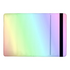 Multi Color Pastel Background Samsung Galaxy Tab Pro 10 1  Flip Case by Simbadda