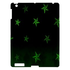 Nautical Star Green Space Light Apple Ipad 3/4 Hardshell Case by Alisyart