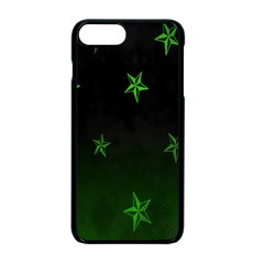 Nautical Star Green Space Light Apple Iphone 7 Plus Seamless Case (black)