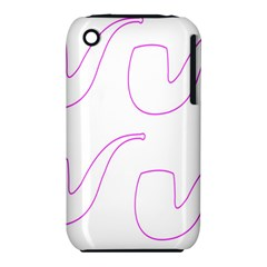 Pipe Template Cigarette Holder Pink Iphone 3s/3gs