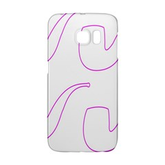 Pipe Template Cigarette Holder Pink Galaxy S6 Edge