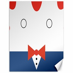 Peppermint Butler Wallpaper Face Canvas 18  X 24   by Alisyart