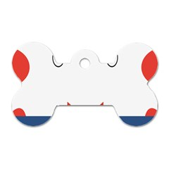 Peppermint Butler Wallpaper Face Dog Tag Bone (two Sides) by Alisyart