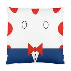 Peppermint Butler Wallpaper Face Standard Cushion Case (two Sides)