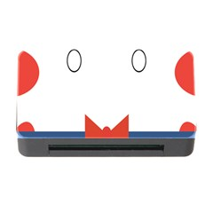 Peppermint Butler Wallpaper Face Memory Card Reader With Cf