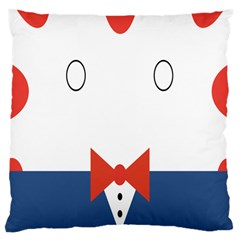 Peppermint Butler Wallpaper Face Large Cushion Case (one Side)