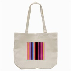 Multi Color Vertical Background Tote Bag (cream) by Simbadda
