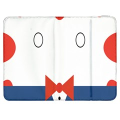 Peppermint Butler Wallpaper Face Samsung Galaxy Tab 7  P1000 Flip Case