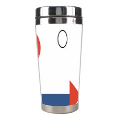 Peppermint Butler Wallpaper Face Stainless Steel Travel Tumblers by Alisyart