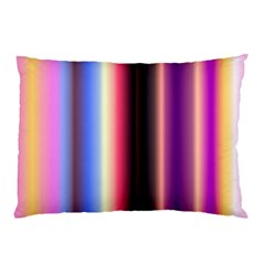 Multi Color Vertical Background Pillow Case