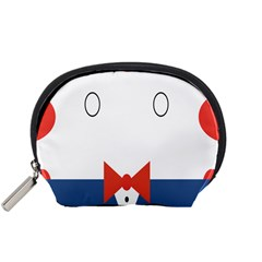 Peppermint Butler Wallpaper Face Accessory Pouches (small)  by Alisyart
