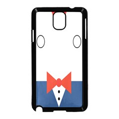 Peppermint Butler Wallpaper Face Samsung Galaxy Note 3 Neo Hardshell Case (black) by Alisyart