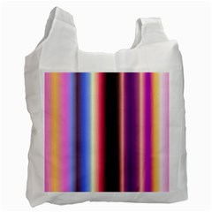 Multi Color Vertical Background Recycle Bag (two Side)  by Simbadda