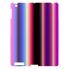 Multi Color Vertical Background Apple Ipad 3/4 Hardshell Case