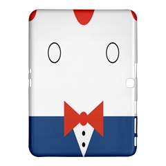 Peppermint Butler Wallpaper Face Samsung Galaxy Tab 4 (10 1 ) Hardshell Case