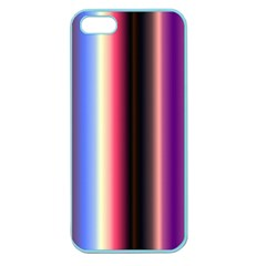 Multi Color Vertical Background Apple Seamless Iphone 5 Case (color)