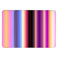 Multi Color Vertical Background Samsung Galaxy Tab 8 9  P7300 Flip Case by Simbadda