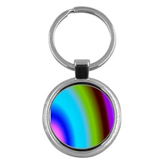 Multi Color Stones Wall Multi Radiant Key Chains (round)  by Simbadda